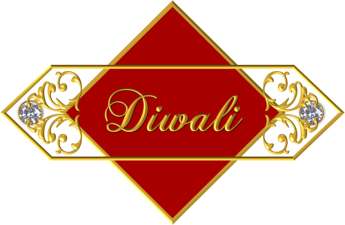 diwali ornament banner