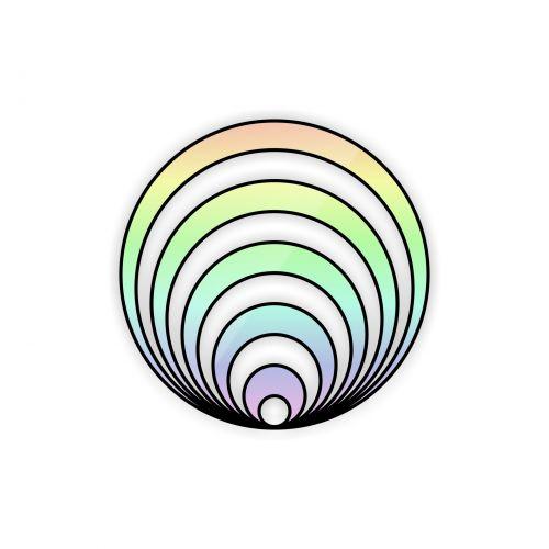Dizzy Rainbow Rings