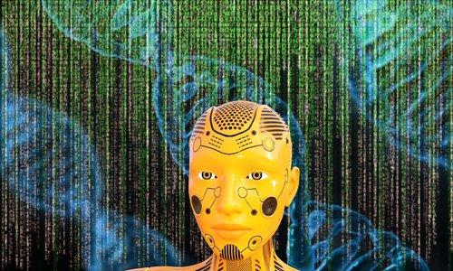 dna  genetics  cyborg