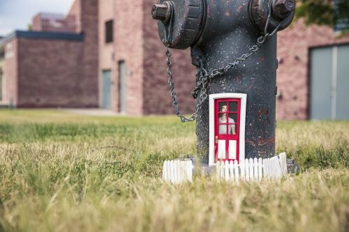 house meadow water pump