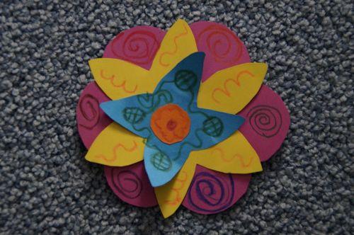 do it yourself handicraft flower