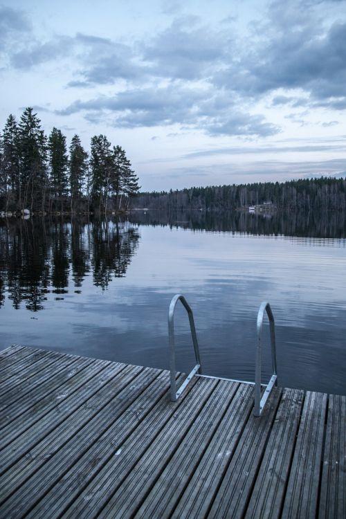 dock ladders lake