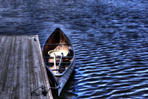 dock rowboat boat
