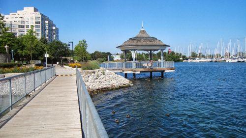 dock shoreline shore