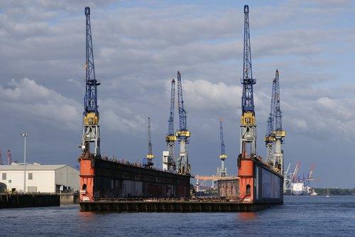 dock  repair  floating dock