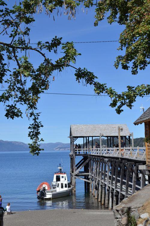 dock sailing patagonia