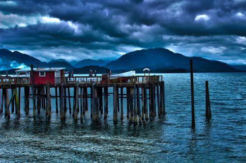 docks moody blue