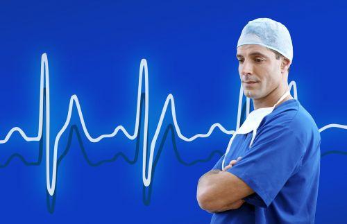 doctor medical blue