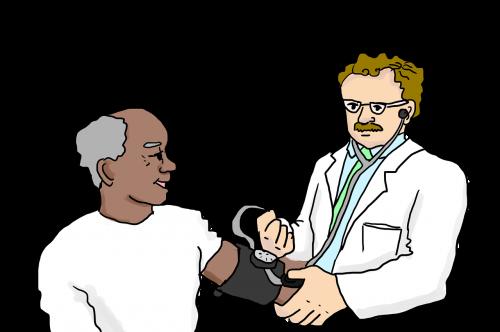 doctor blood pressure stethoscope
