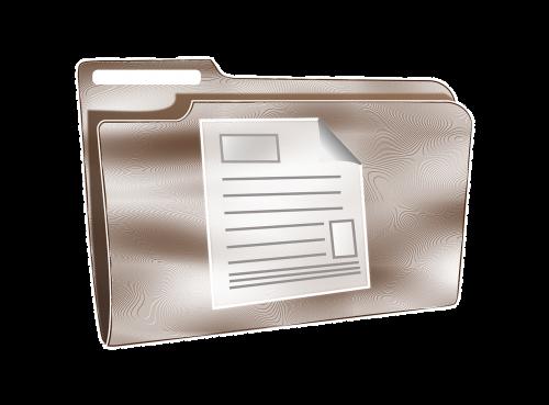 document folder logo