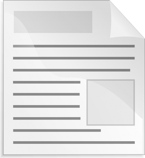 document layout template