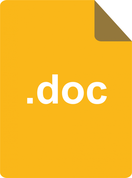 document doc yellow doc