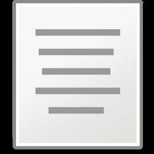 document paper align center