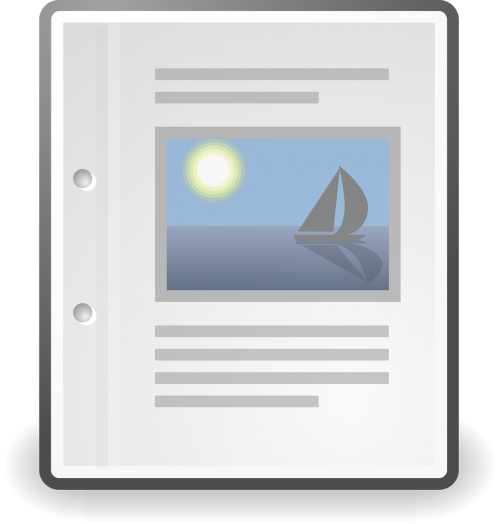 document text icon