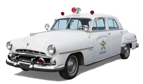 dodge sheriff - clark country nevada police car