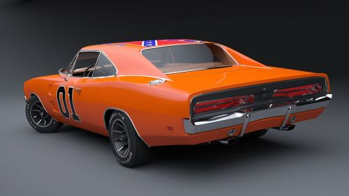 dodge charger general lee muscle car