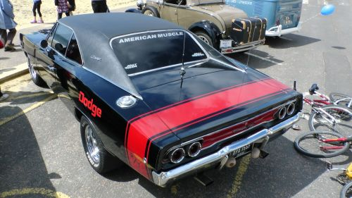 Dodge Charger Car Rear