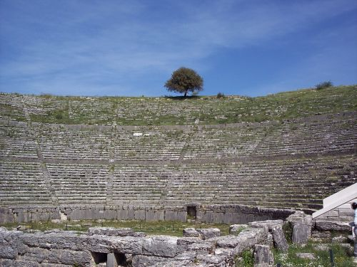 dodoni ancient theater greece