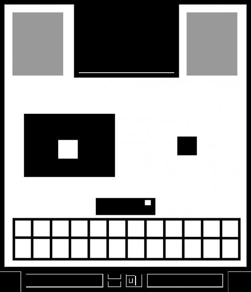 dog pixelated pixels