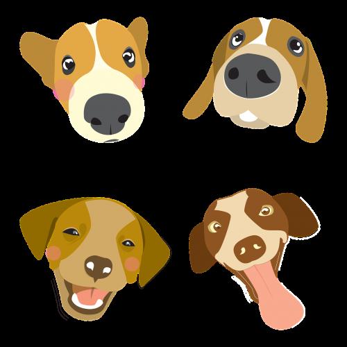 dog illustration pet