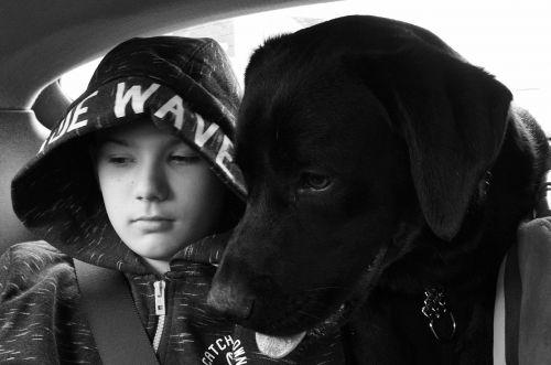 šuo,vaikas,Draugystė,vyras