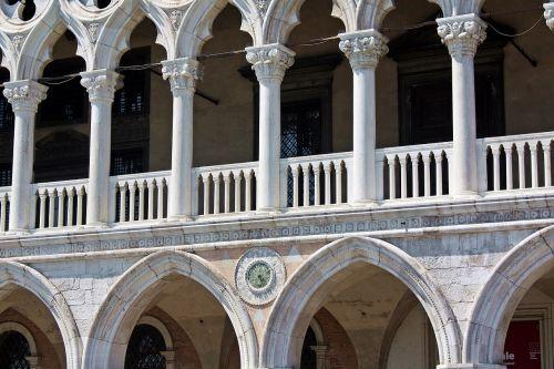 doges rūmai,Venecija,italy,architektūra,paminklas,arcade,seni pastatai,stulpelis,pastatas