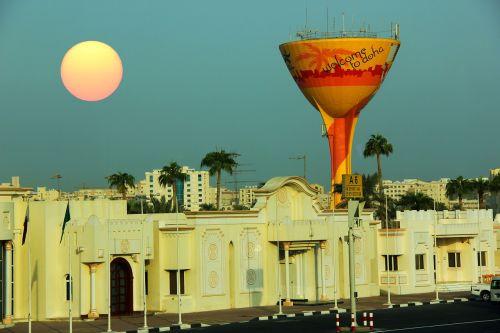 doha middle east sun
