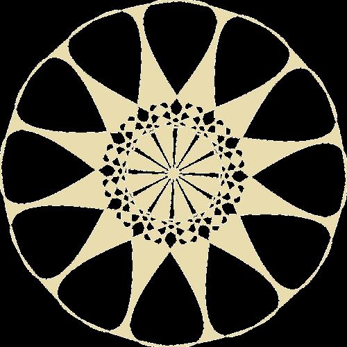 doily pattern wheel
