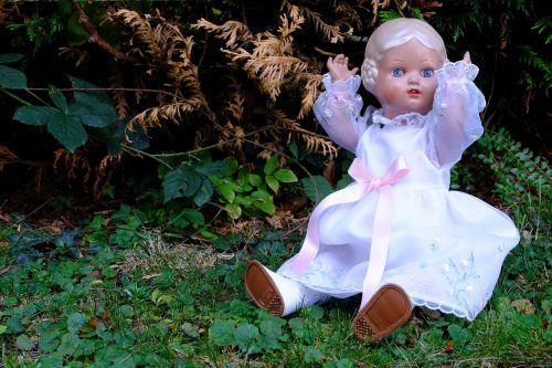 doll festive sitting
