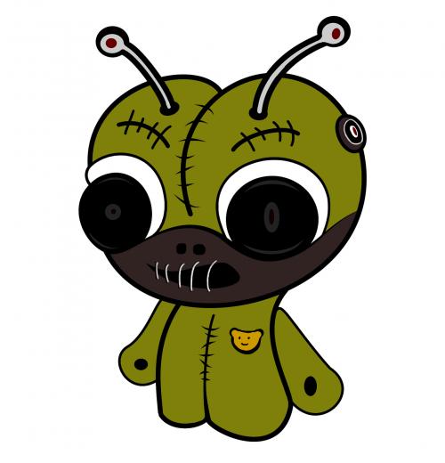 doll cartoon character