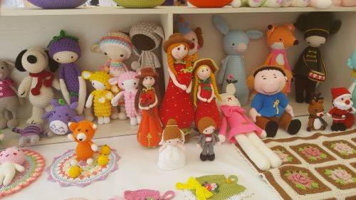 doll handicraft cute