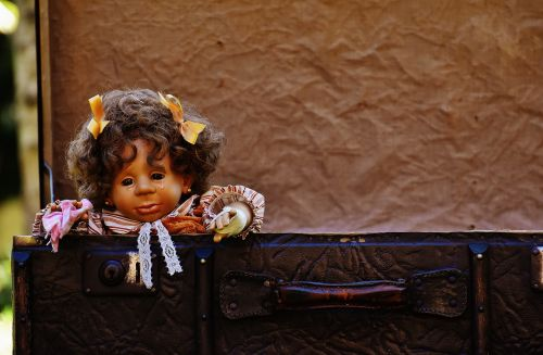 doll girl cry