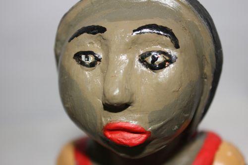 doll ceramics crafts