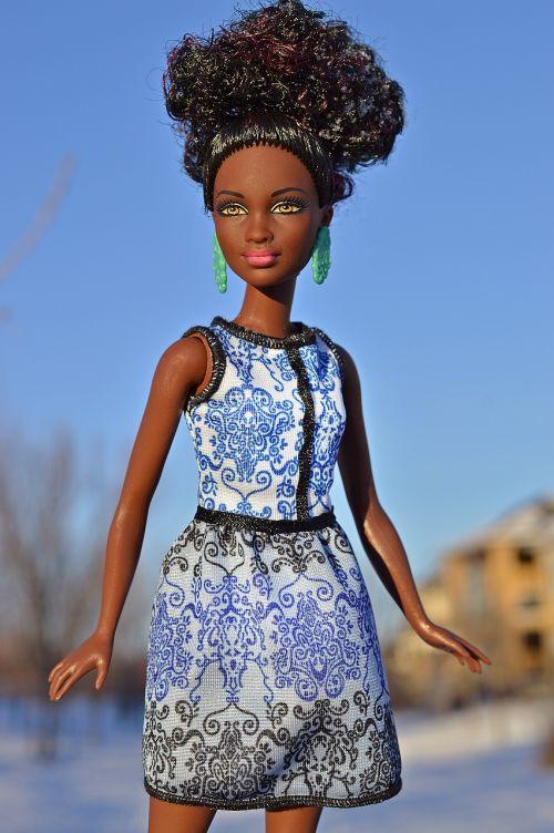 doll black african-american