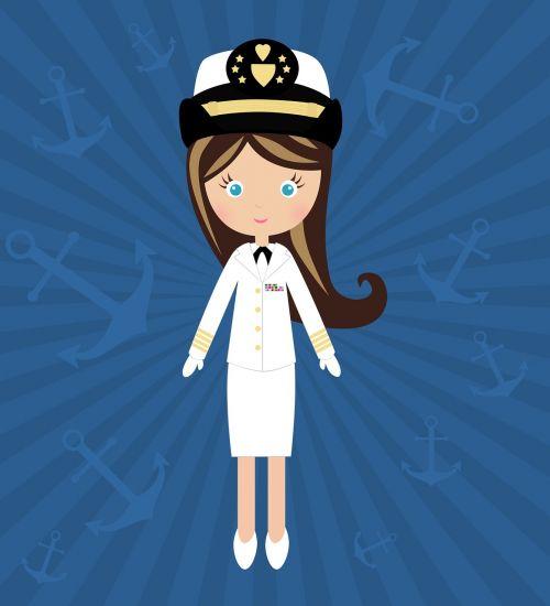 doll navy uniform