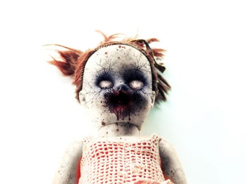 doll toy zombie