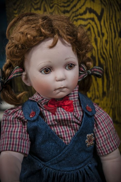 doll vintage antique