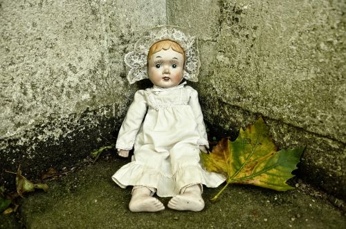 doll porcelain handmade doll