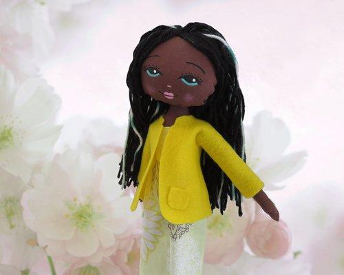 doll  black  toy