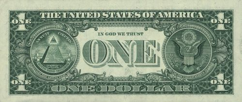 dollar banknote united states