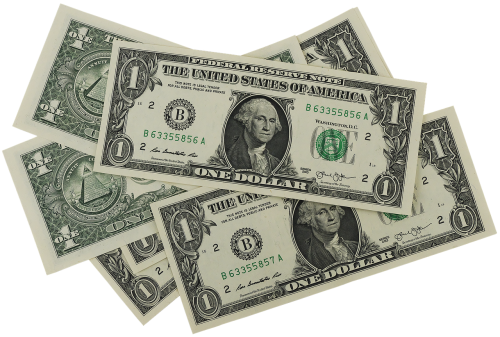dollar bank note banknote