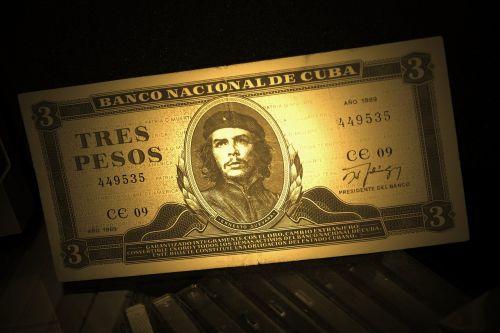 dollar bill che guevara money