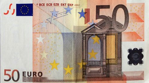 dollar bill euro money