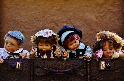 dolls cute children
