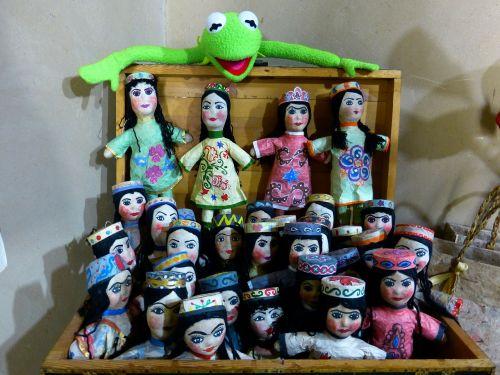 dolls hand puppets puppet theatre