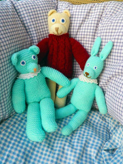 dolls stuffed animals craft