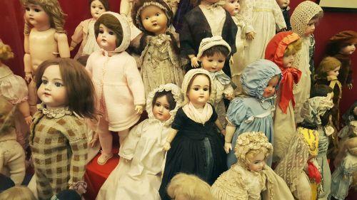 dolls vintage shabby chick