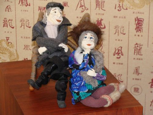 dolls couple two