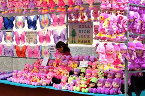 dolls farmers local market market stall