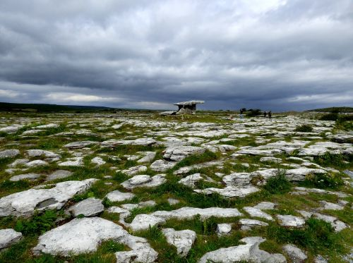 dolmen stones past